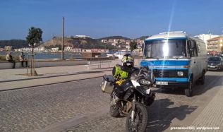 Sao Martinho do Porto, Treffen mit Rob
