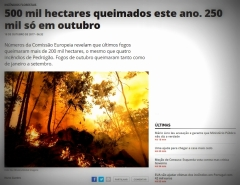 printscreen aus: portugiesische Presse
