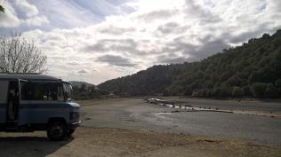 Chaos, barragem do Caldeirao, am Einlauf