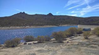 Stausee barragem de Vale Rossim