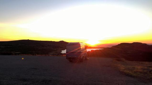 lago Viriato bei Penhas da Saude
